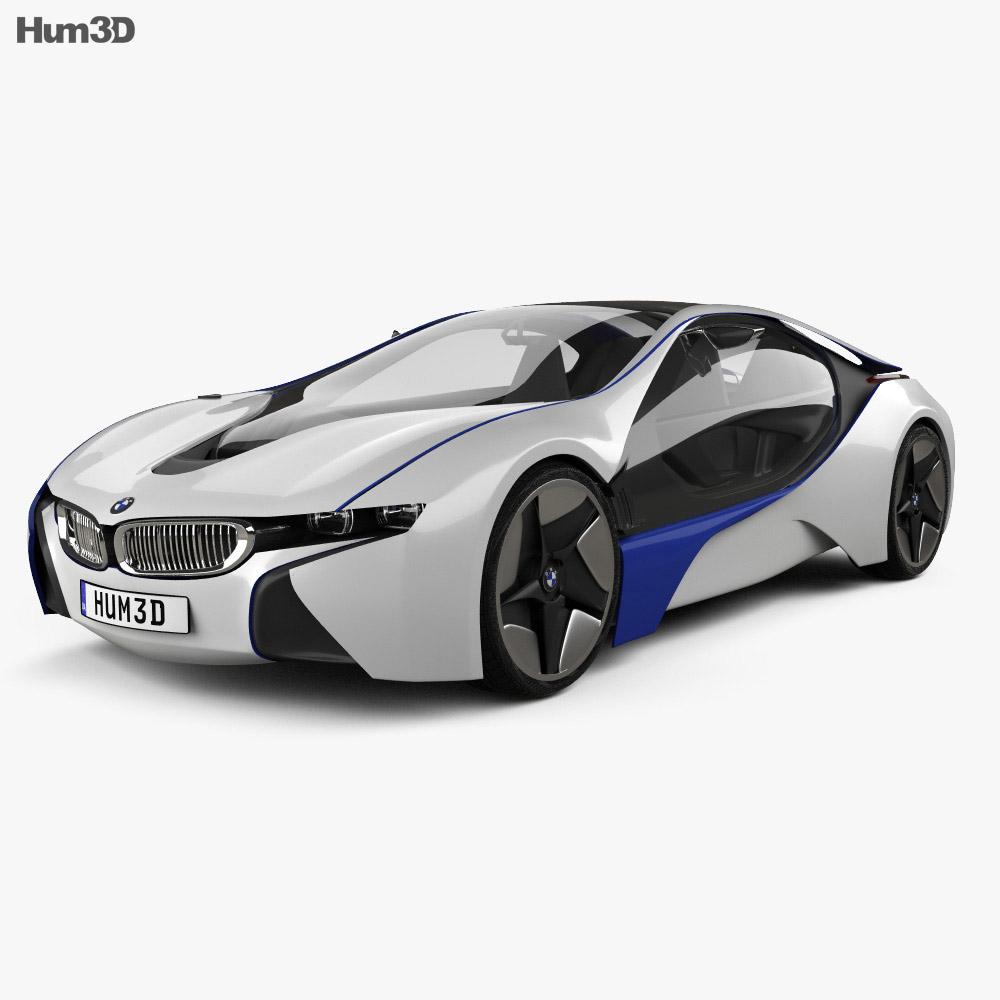 BMW i8 concept 2009 3d model