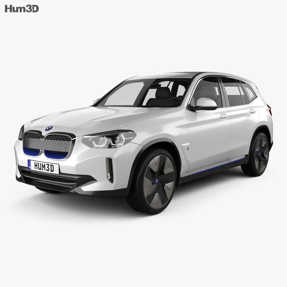 BMW iX3 2018 3d model