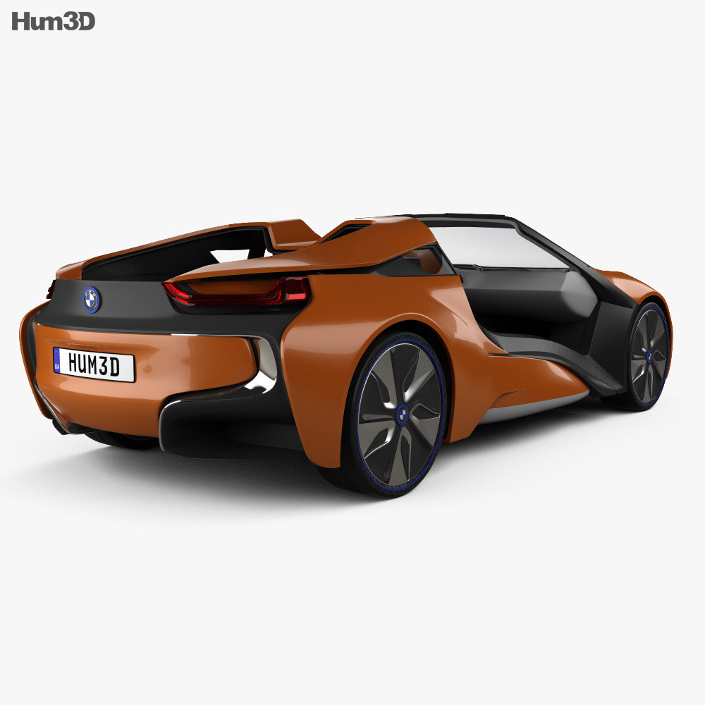 BMW i Vision Future Interaction 2016 3d model