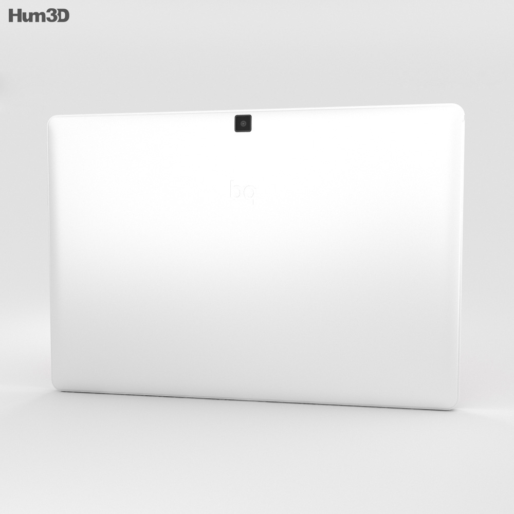 BQ Aquaris M10 White 3d model