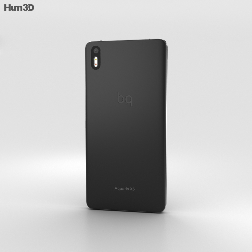 BQ Aquaris X5 Plus Gray 3d model