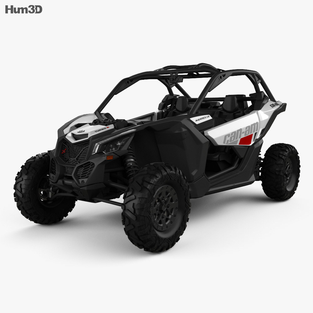 brp can am maverick x3 2017 3d model vehicles on hum3d. Black Bedroom Furniture Sets. Home Design Ideas