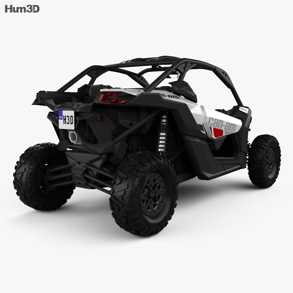 BRP Can-Am Maverick X3 2017 3d model
