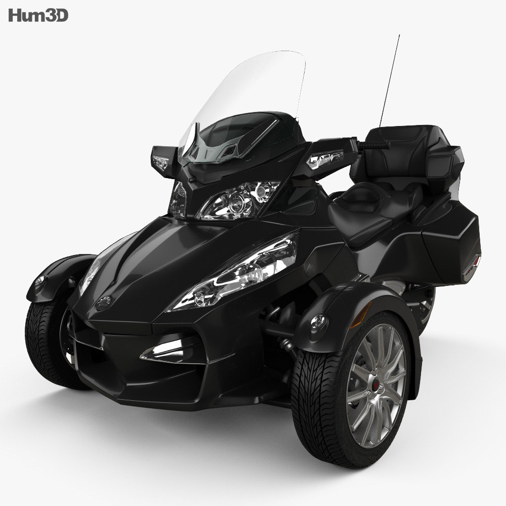 BRP Can-Am Spyder RT 2014 3d model