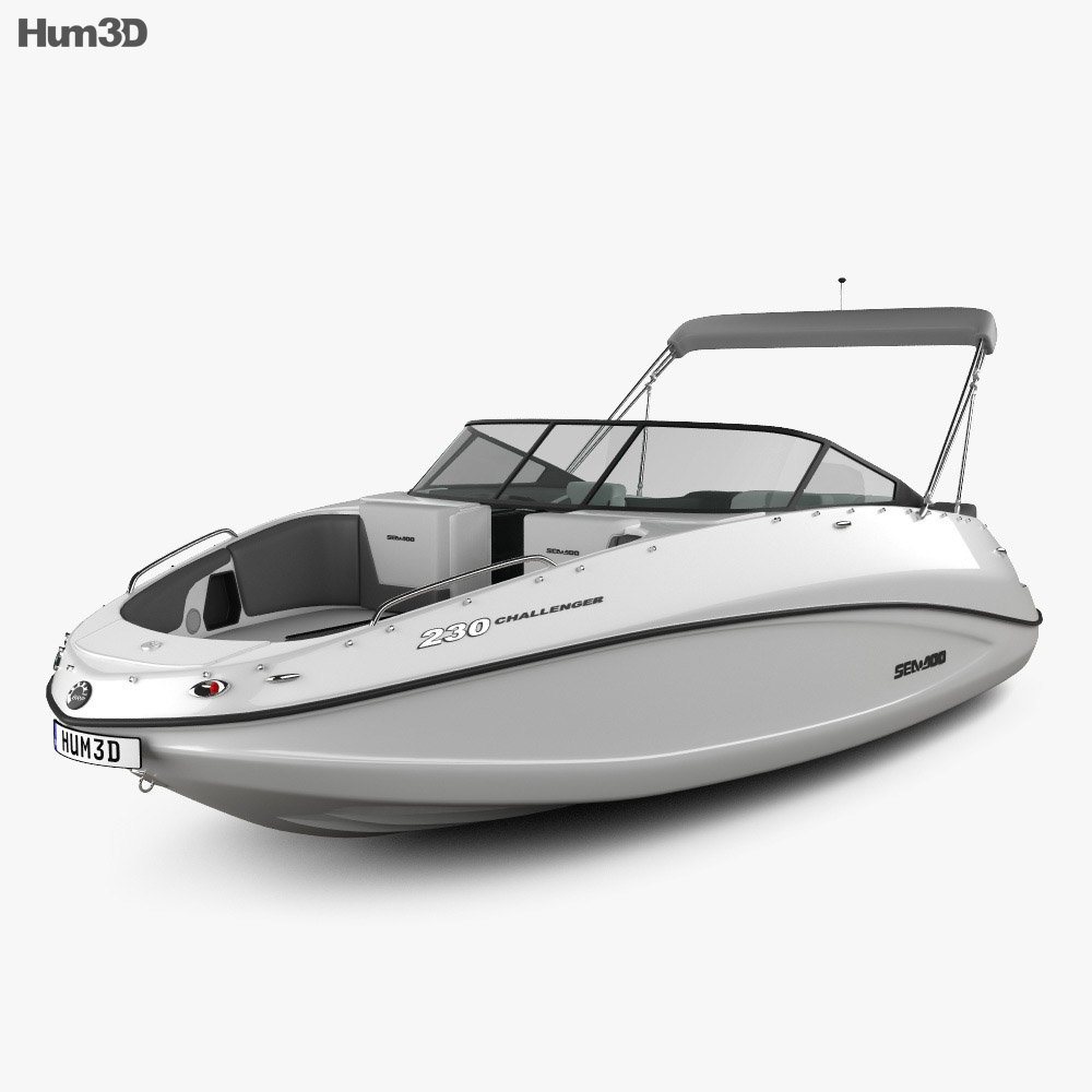 BRP Sea-Doo Challenger 230 2012 3d model