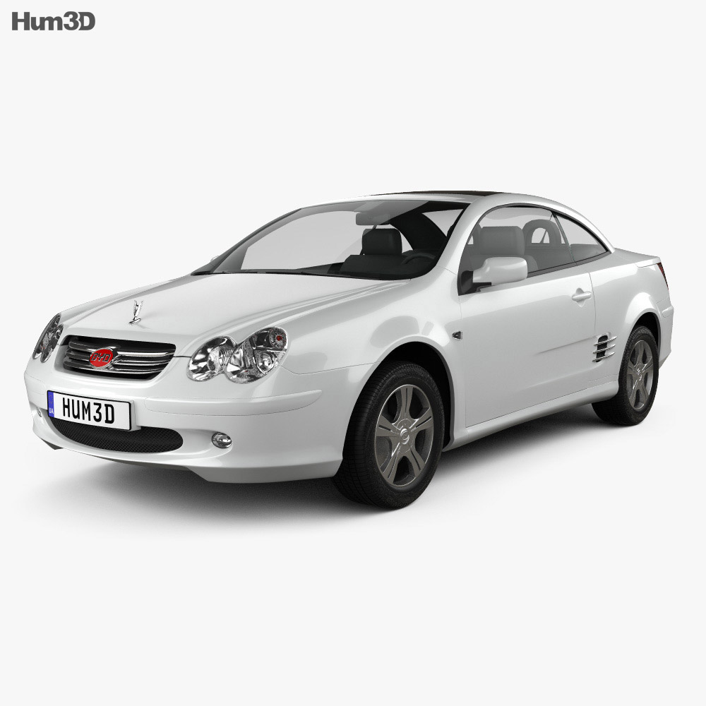 BYD F8 2009 3d model