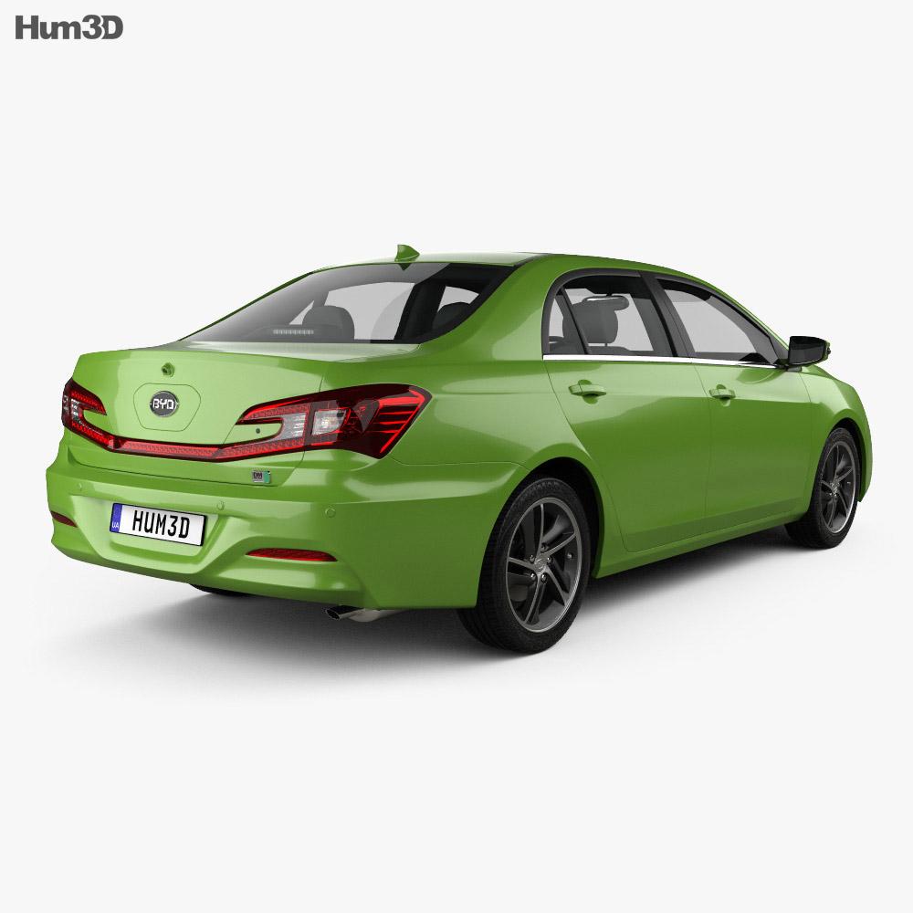 BYD Qin 2014 3d model