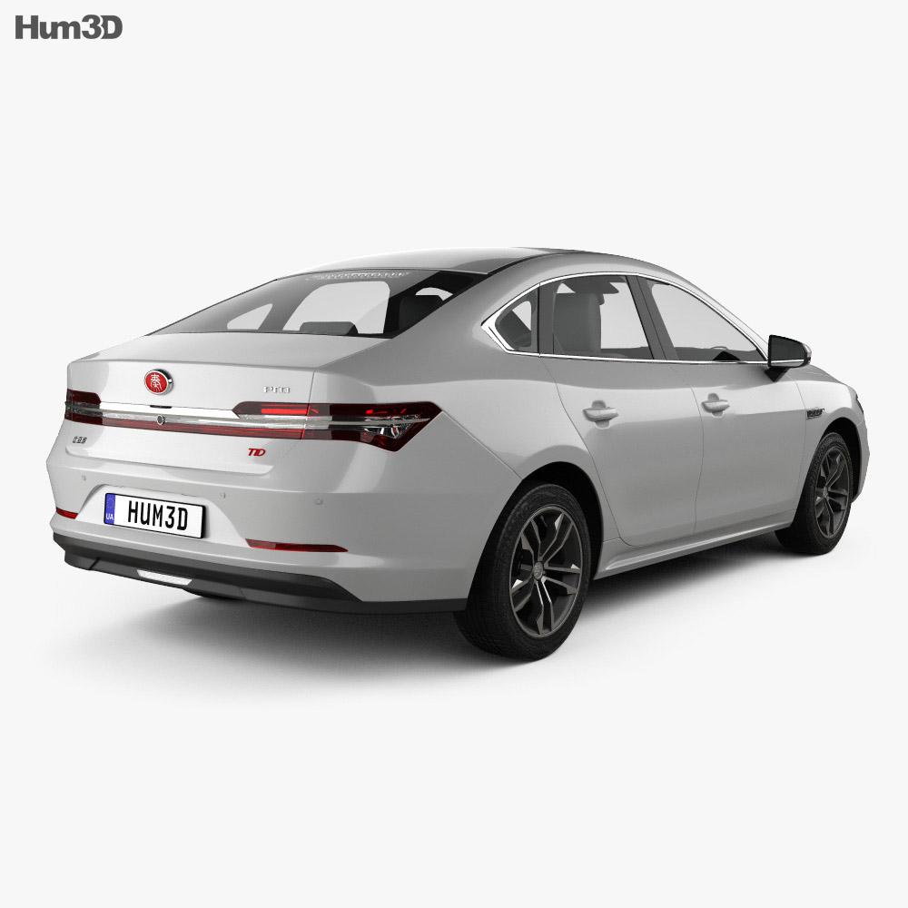 BYD Qin Pro 2018 3d model