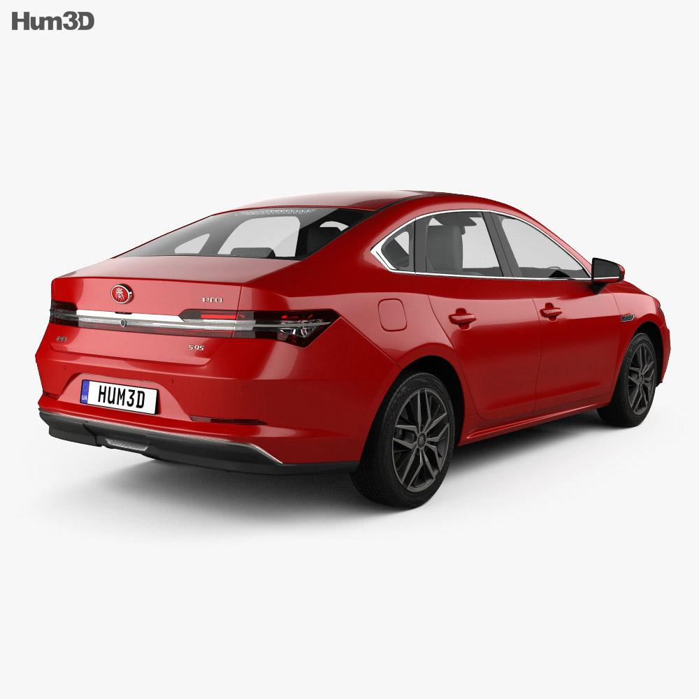 BYD Qin Pro DM 2018 3d model