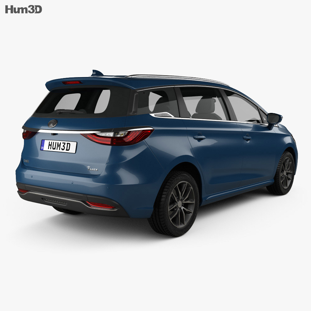 BYD Song Max 2018 3d model