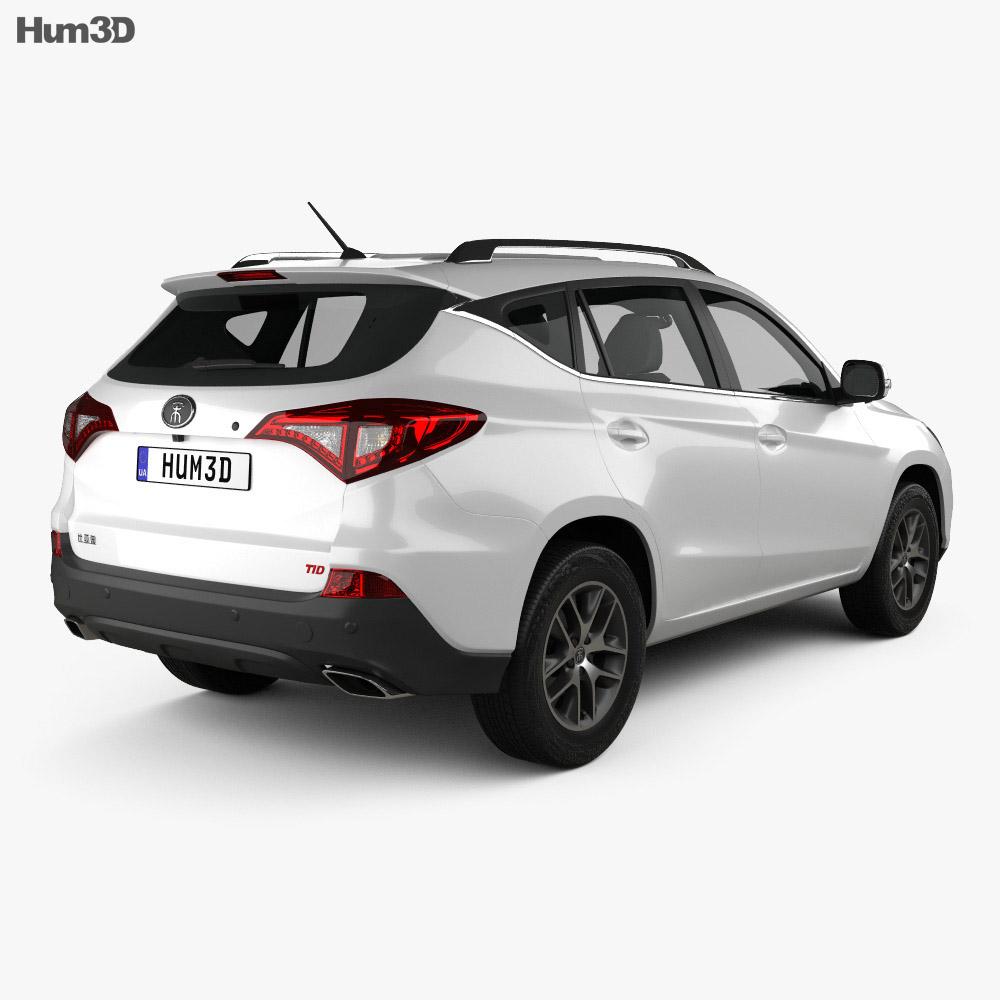 BYD Song S3 EV400 2018 3d model