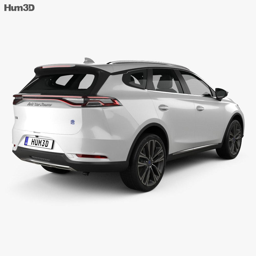 BYD Tang 2018 3d model
