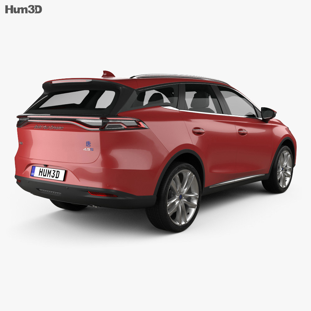 BYD Tang DM 2018 3d model