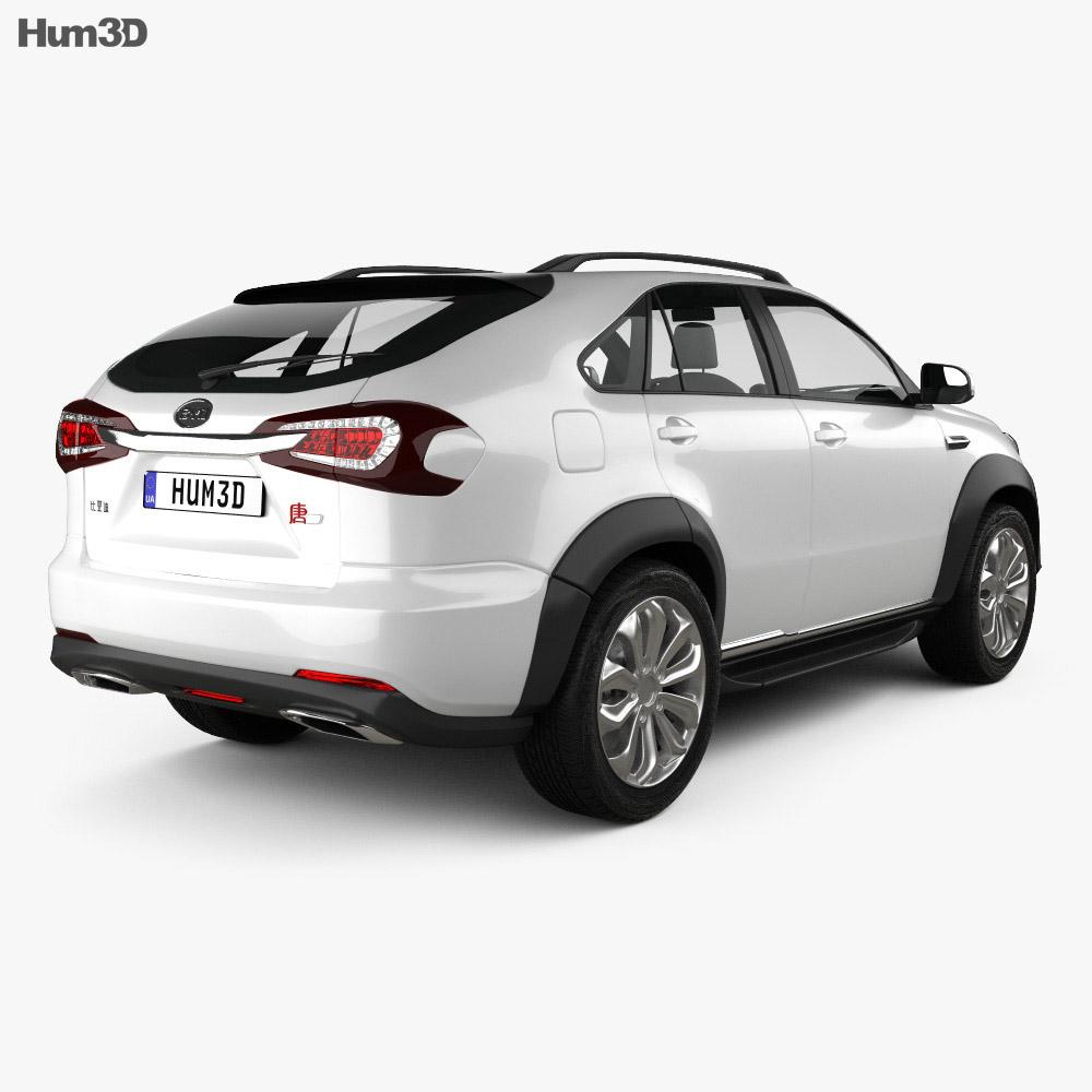 BYD Tang 2014 3d model