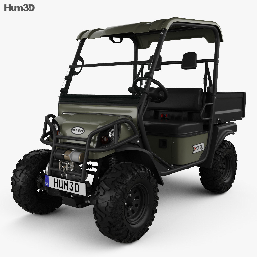 Bad Boy Buggies Recoil iS 4×4 2012 3d model