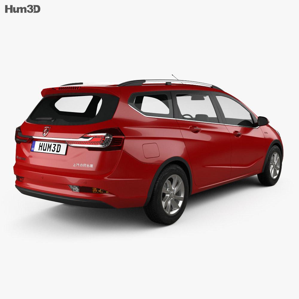 Baojun 310 W 2017 3d model