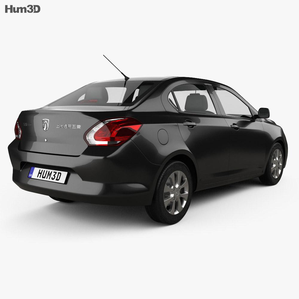 Baojun 330 2016 3d model