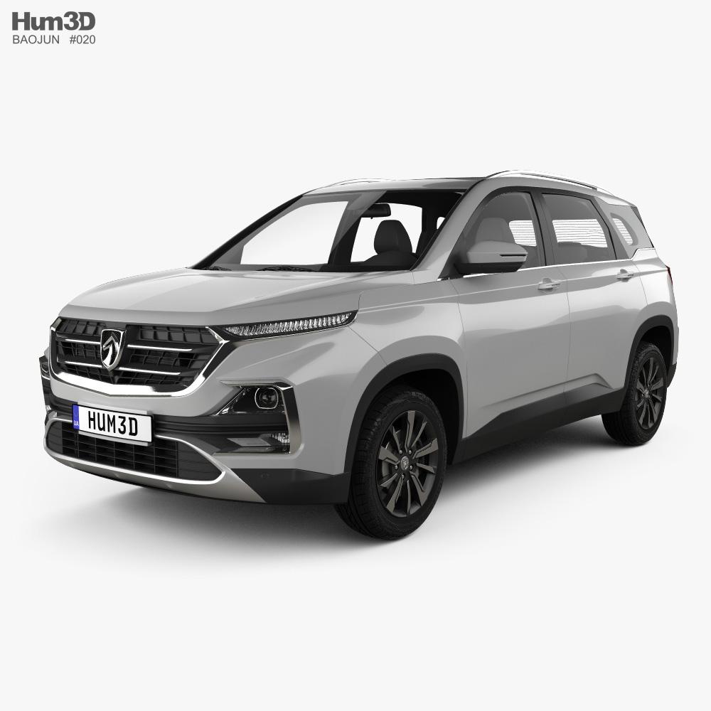 Baojun 530 2018 3d model
