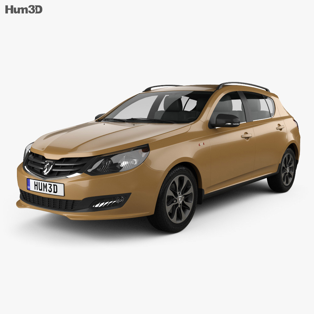Baojun 610 Cross 2014 3d model