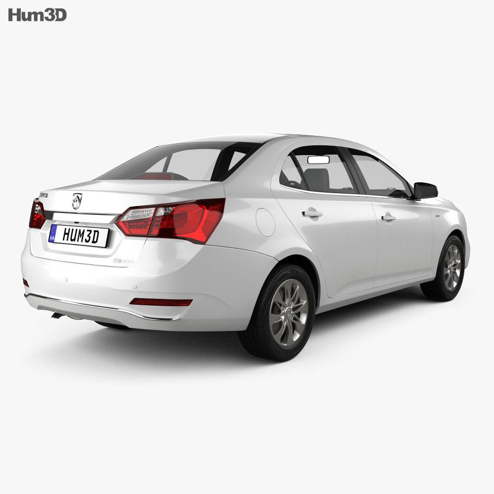 Baojun 630 2016 3d model