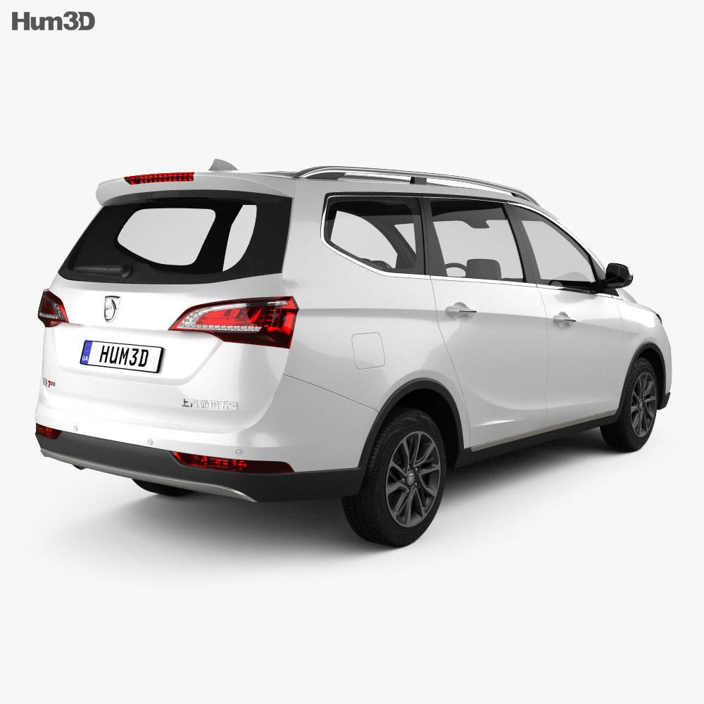 Baojun 730 2017 3d model