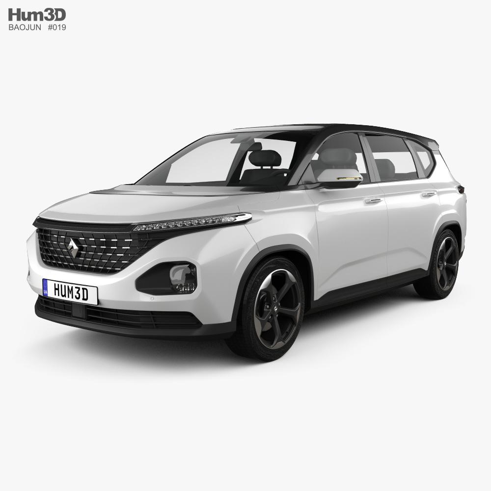 Baojun RM-5 2019 3d model