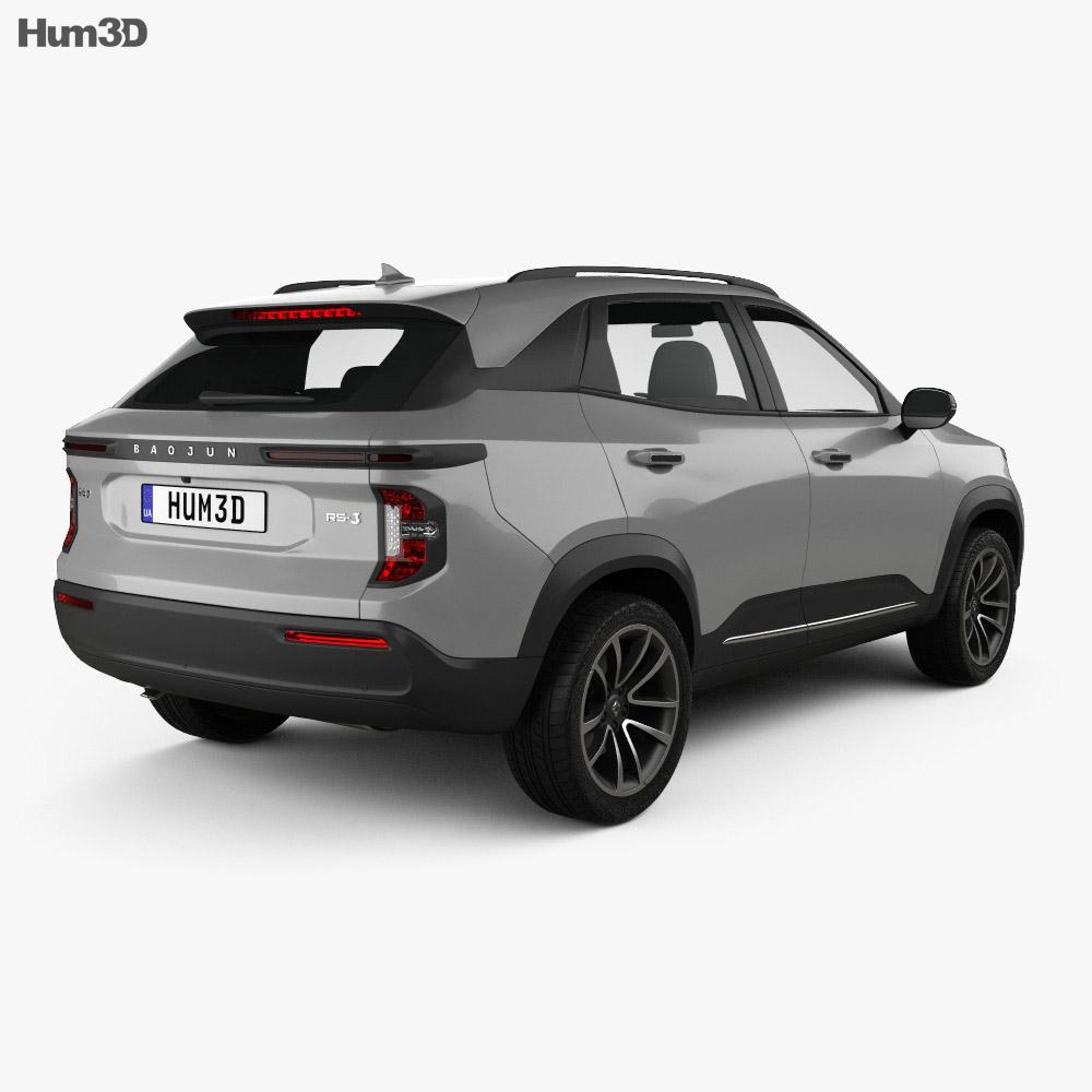 Baojun RS-3 2019 3d model