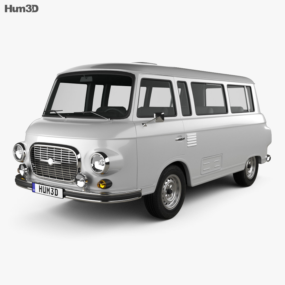 Barkas B1000 KB 1961 3d model