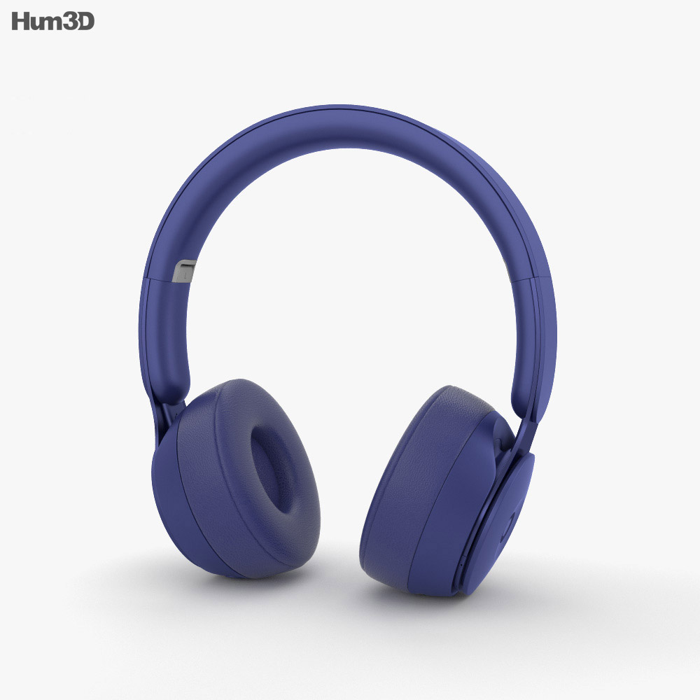 Beats Solo Pro Dark Blue 3d model