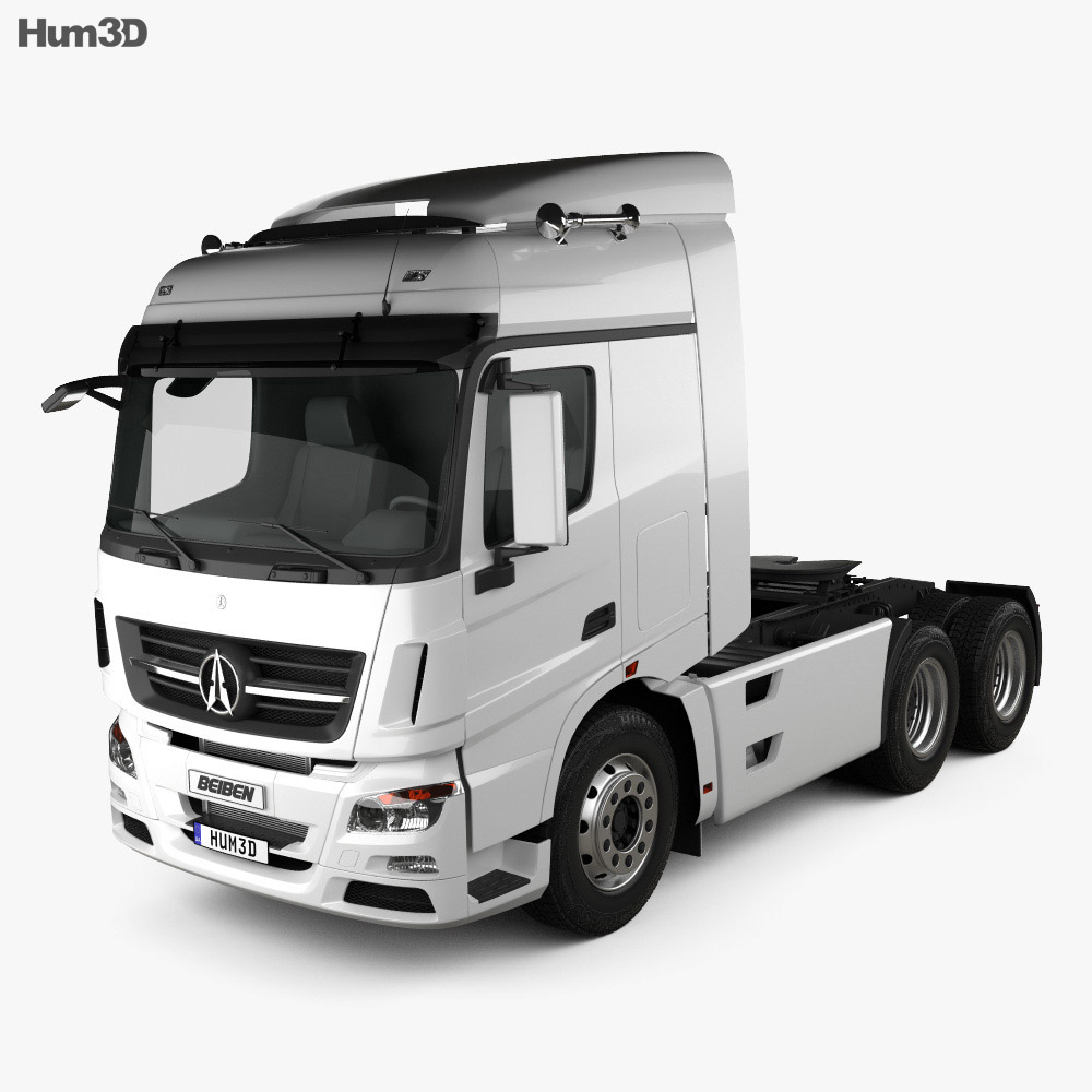 Beiben V3 Tractor 2012 3d model