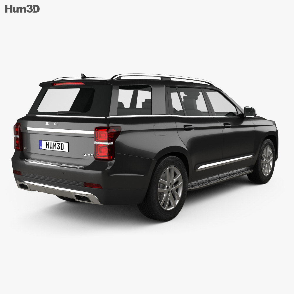 Beijing BJ90 2017 3d model