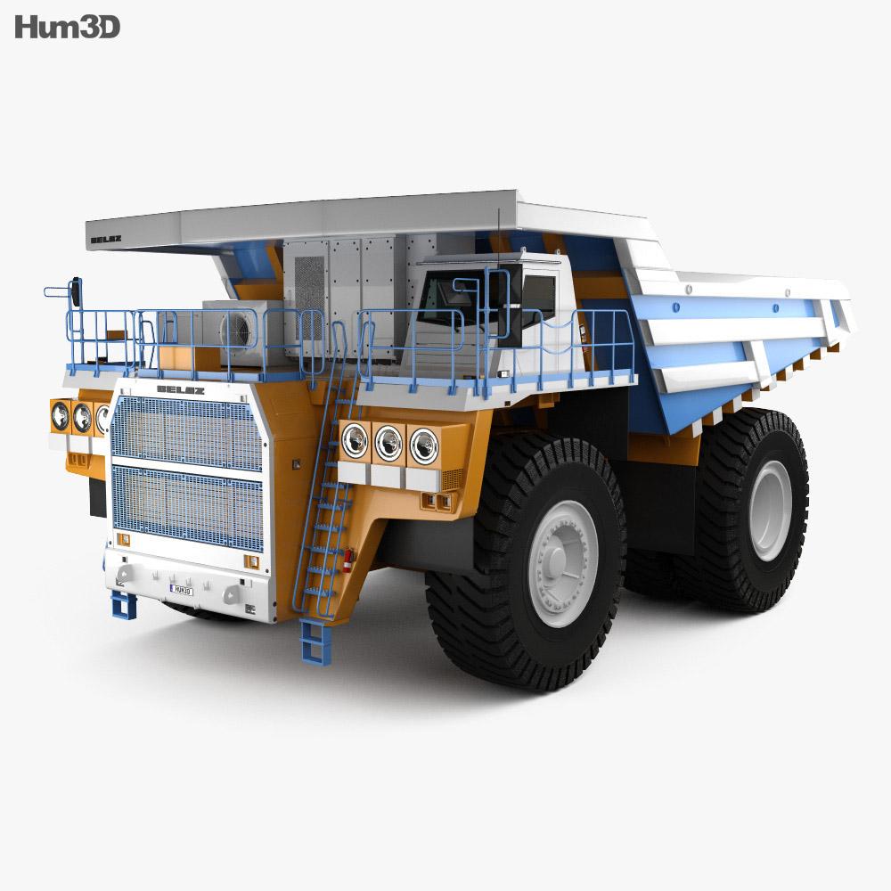 BelAZ 75603 Dump Truck 2012 3d model