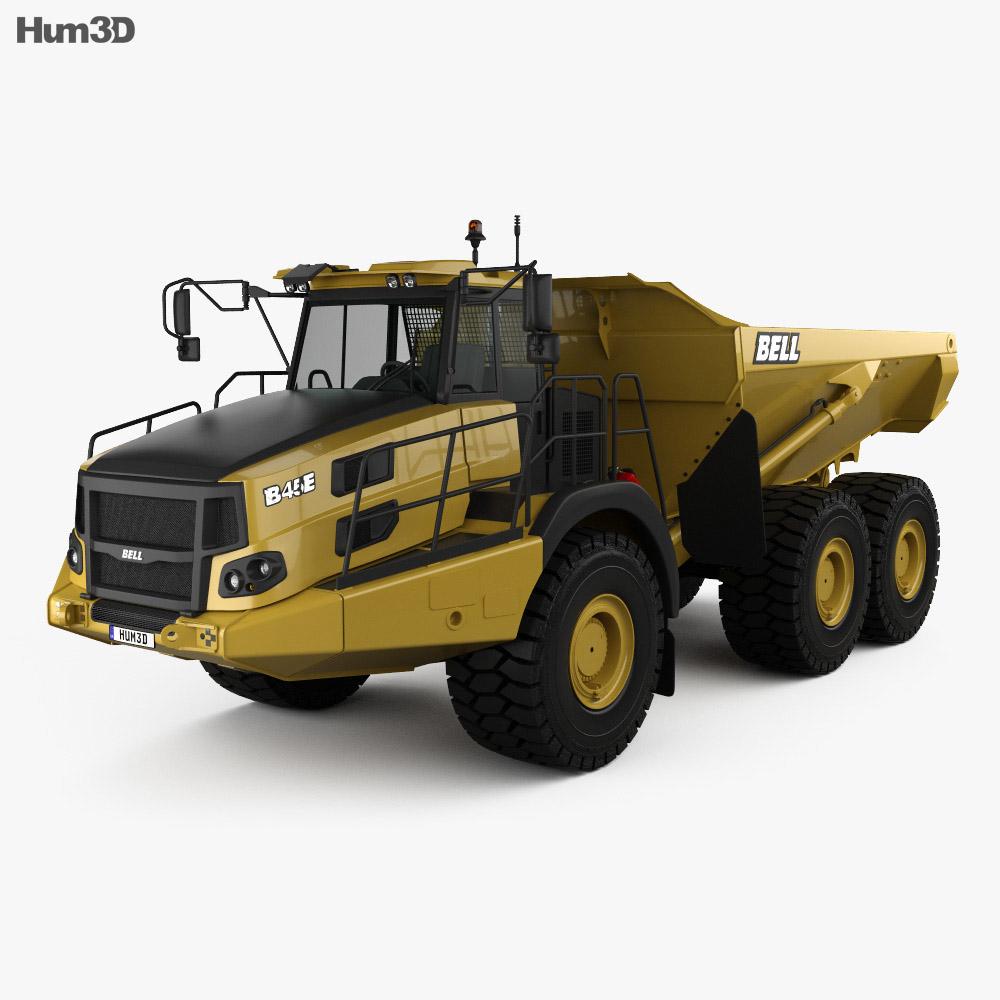 Bell B45E Dump Truck 2016 3d model
