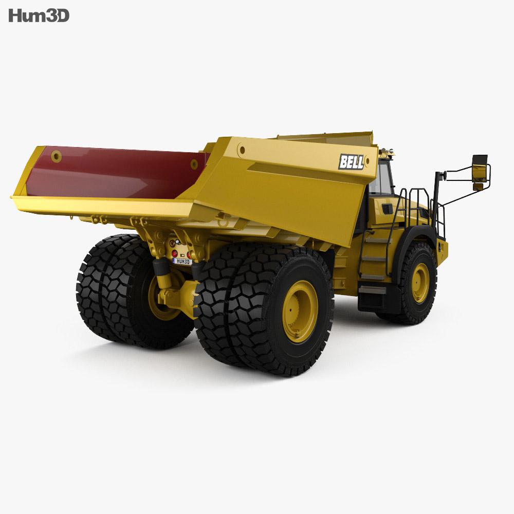 Bell B60E Dump Truck 2016 3d model