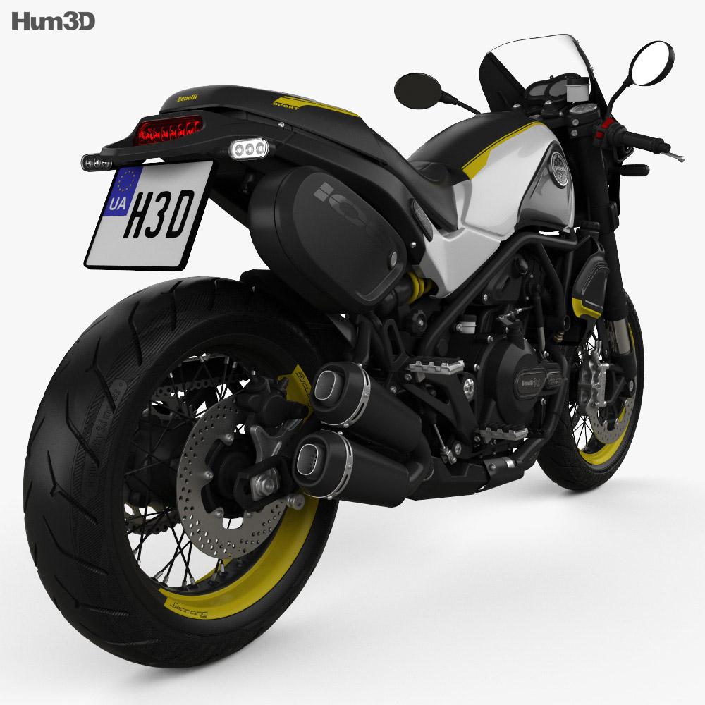 Benelli Leoncino 500 Sport 2018 3d model
