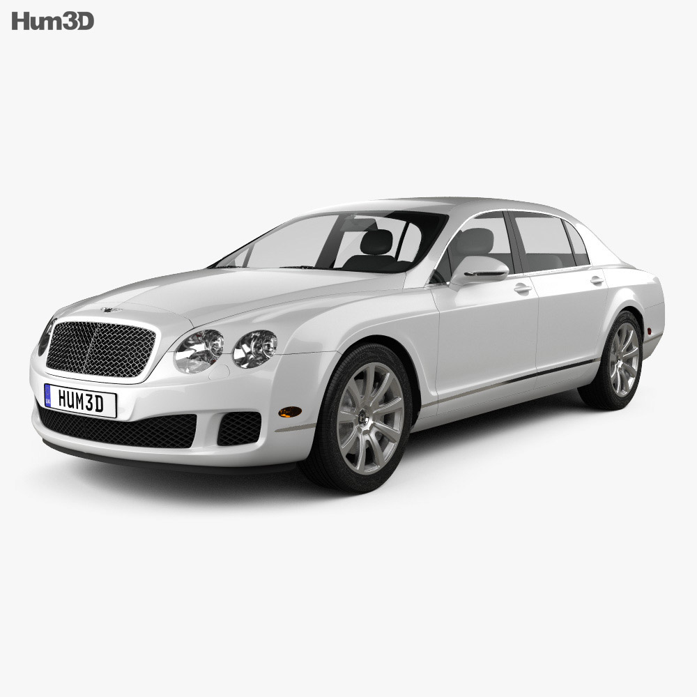 Bentley Continental Flying Spur 2012 3d model