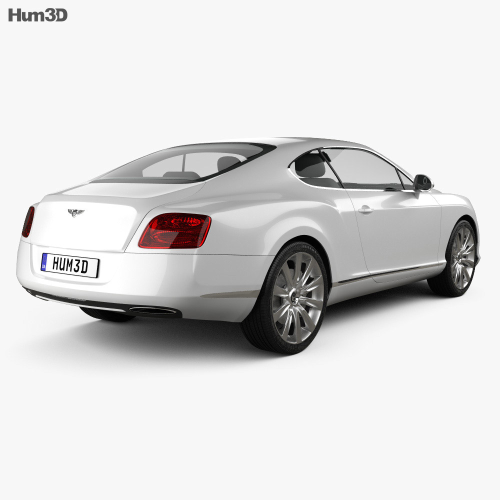 Bentley Continental GT 2012 3d model