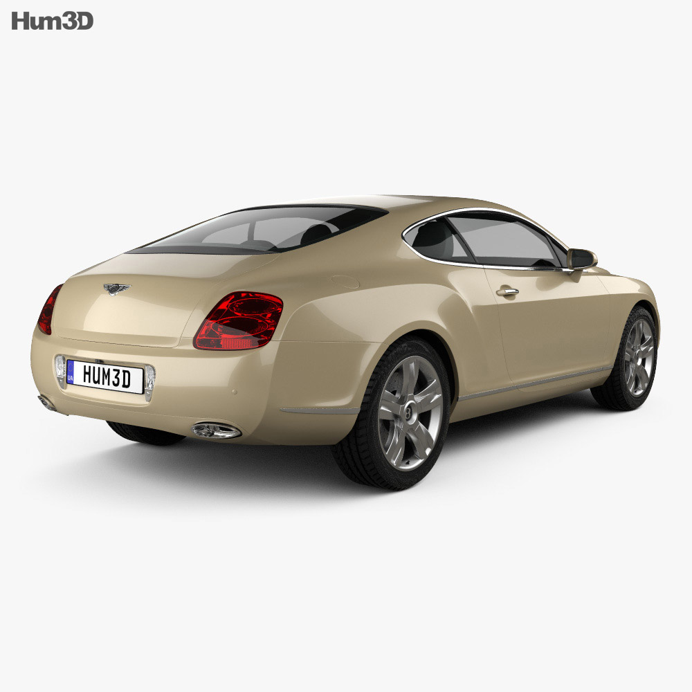 Bentley Continental GT 2007 3d model