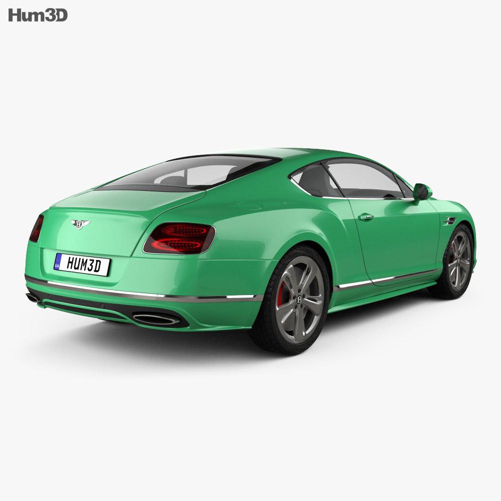 Bentley Continental Gt 2015: Bentley Continental GT Speed 2015 3D Model