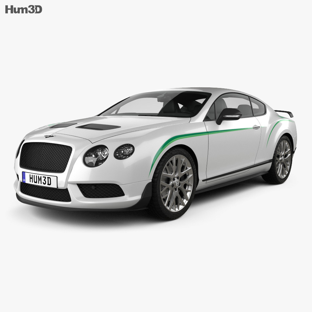 Bentley Continental GT3-R 2015 3D Model