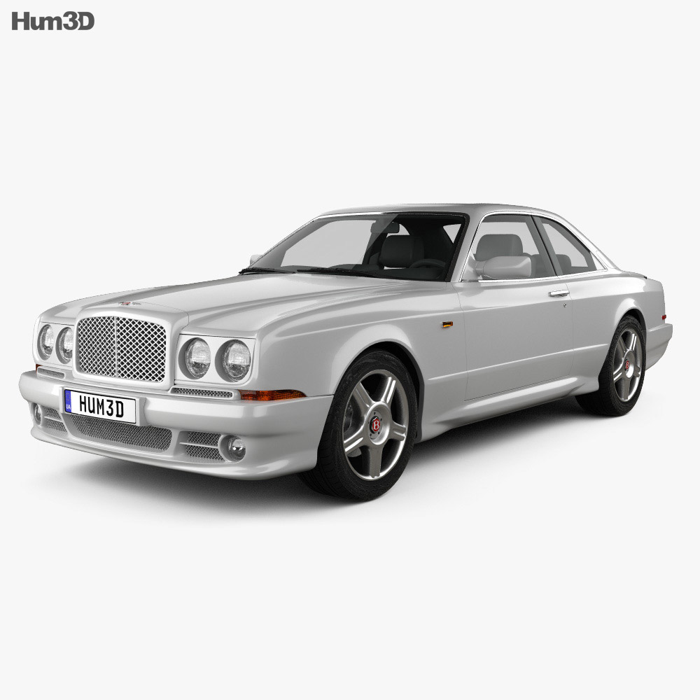 Bentley Continental SC 1998 3d model