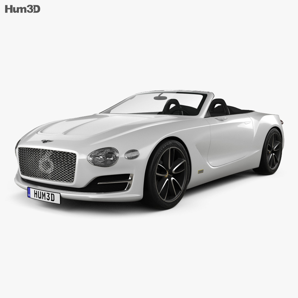 Bentley EXP 12 Speed 6e 2017 3d car model