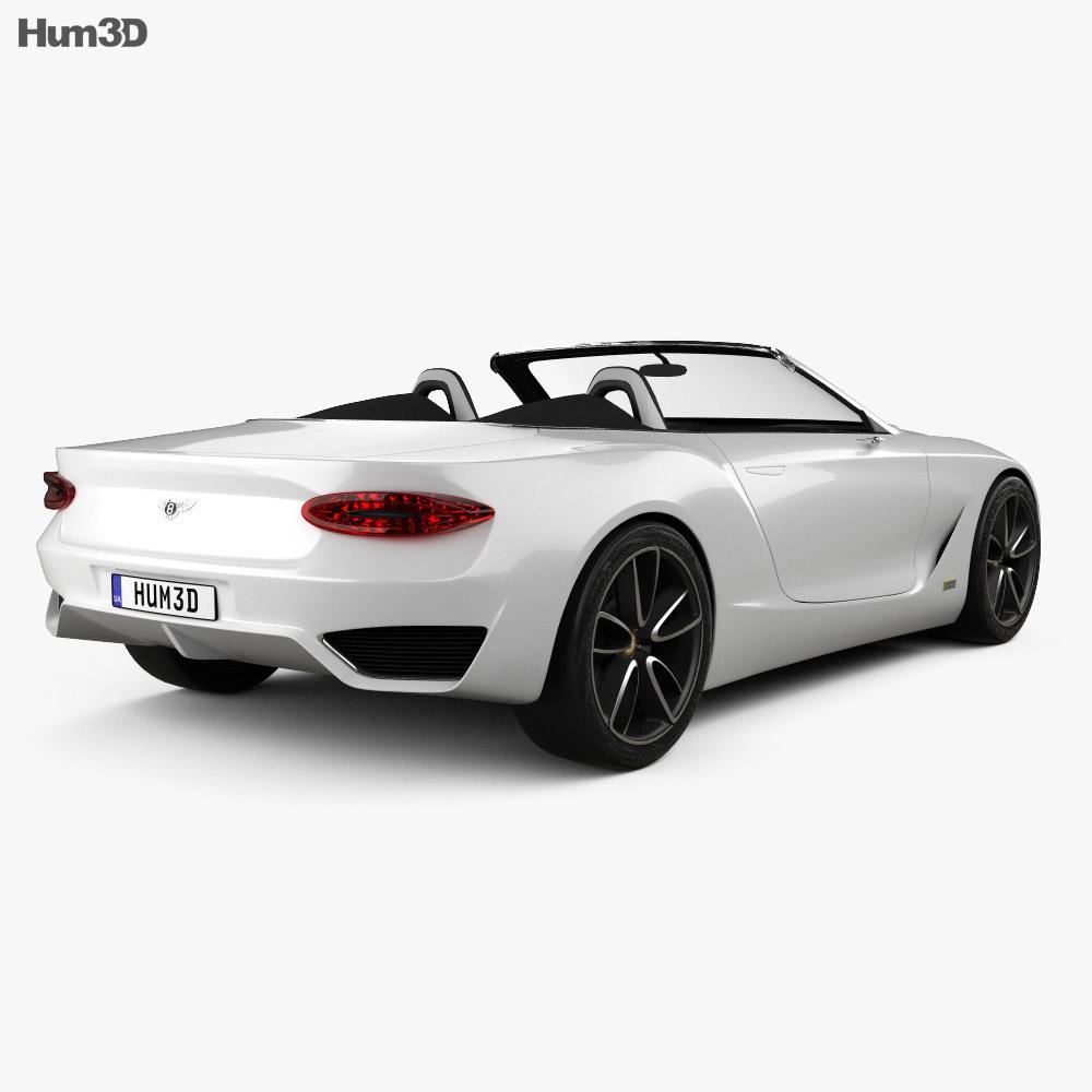 Bentley EXP 12 Speed 6e 2017 3D Model