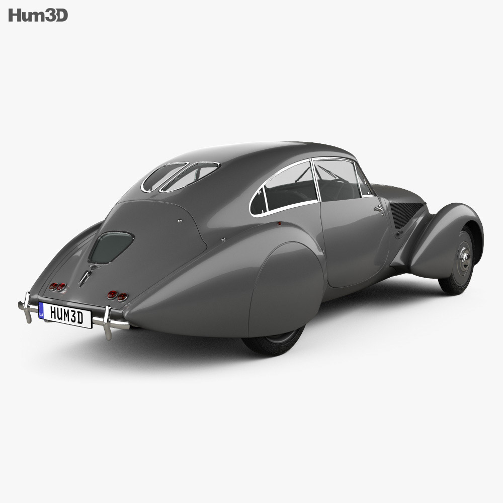 Bentley Embiricos 1938 3d model