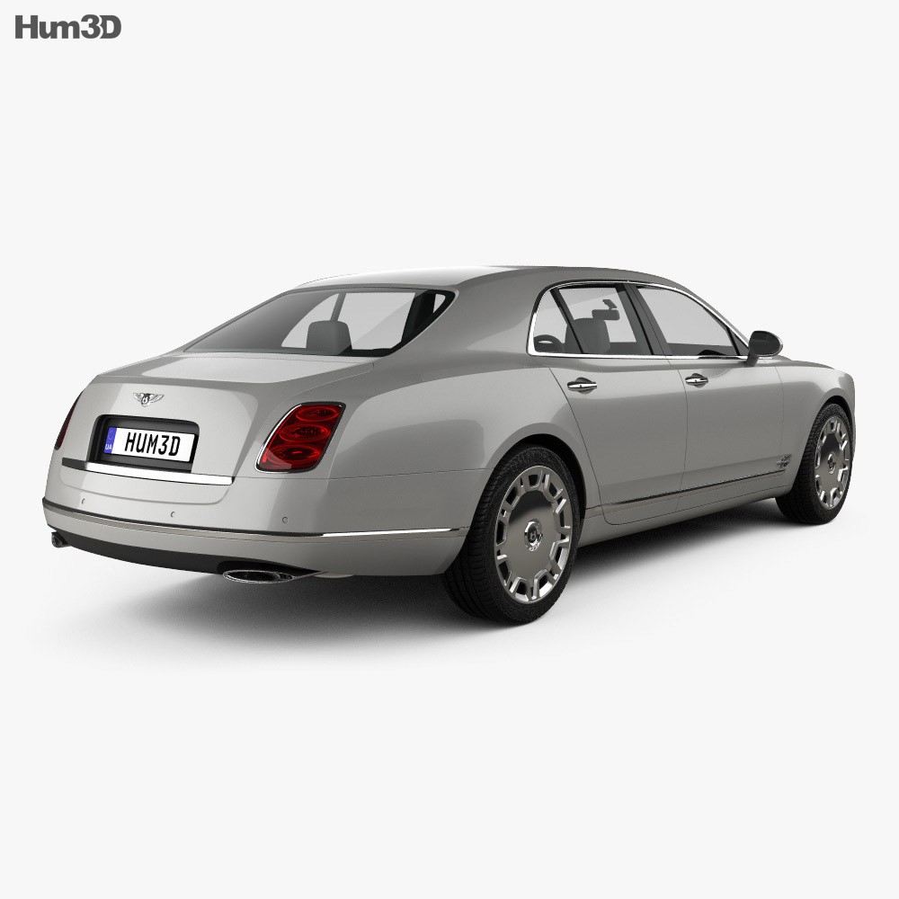 Bentley Mulsanne: Bentley Mulsanne 2011 3D Model