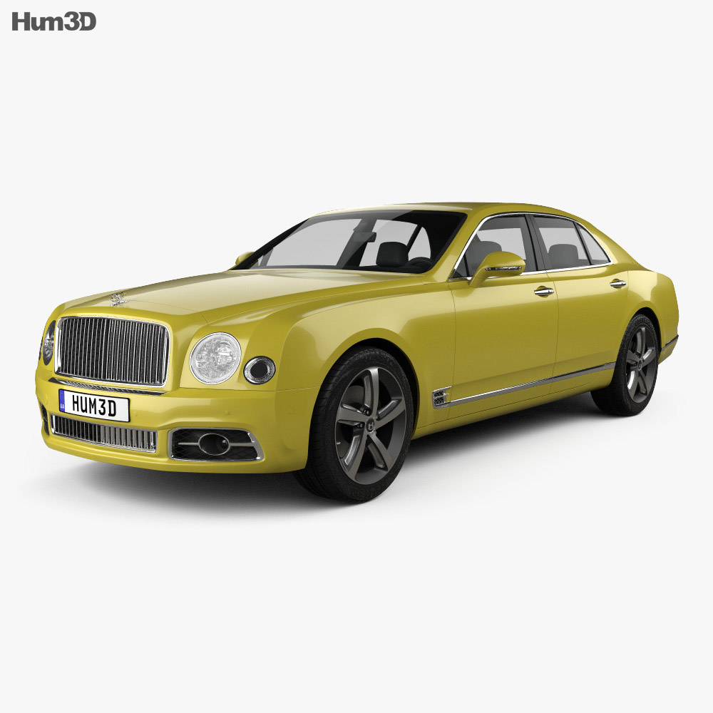 Bentley Mulsanne Speed 2017 3d model