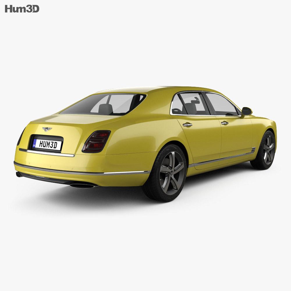 Bentley Mulsanne � Bentley Motors Bentley Fan On: Bentley Mulsanne Speed 2017 3D Model