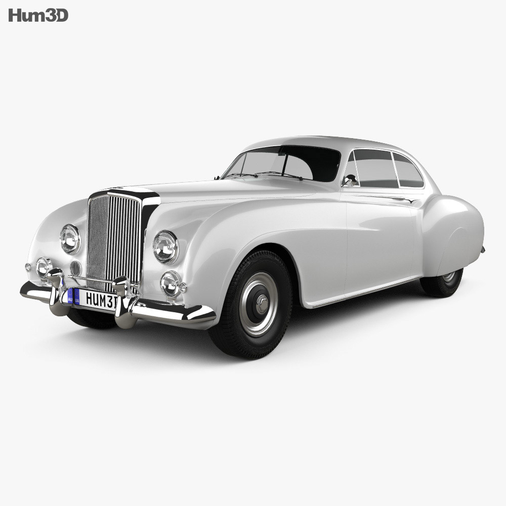 Bentley R-Type Continental 1952 3d model