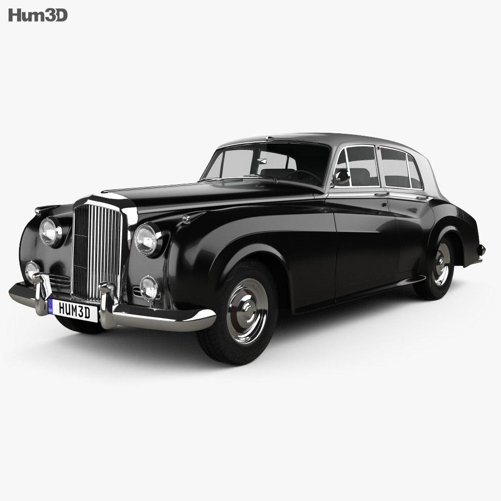 Bentley S1 1955 3d model