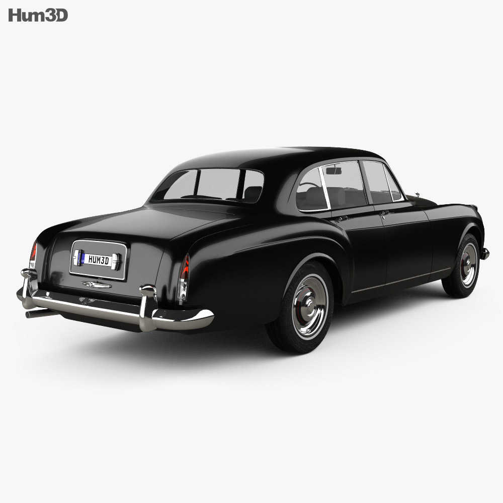 Bentley S2 Continental Flying Spur 1959 3d model